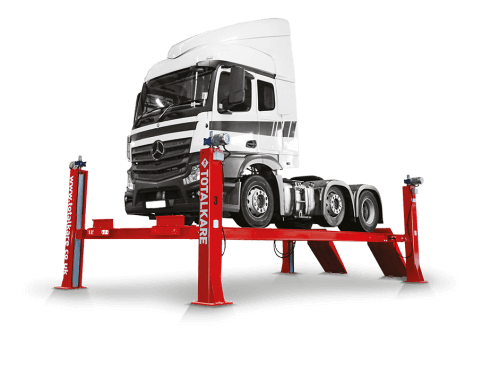 Heavy duty Four Post Lift from Totalkare