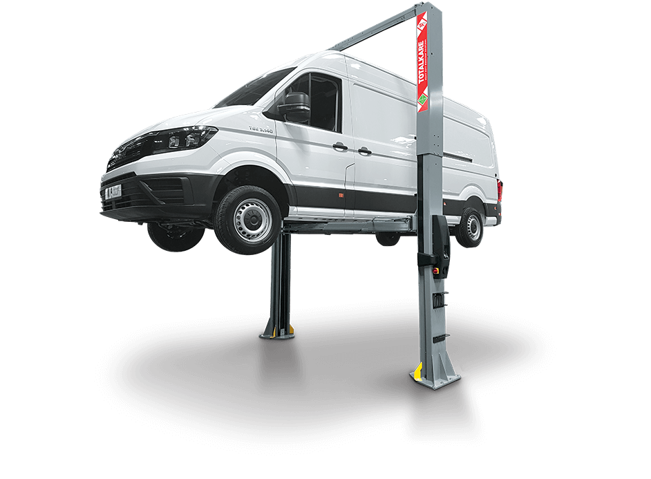 Heavy Duty Two Post Lift from Totalkare