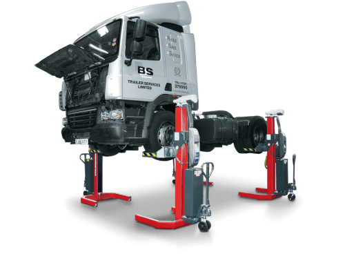 Pre-owned mobile column lifts from Totalkare