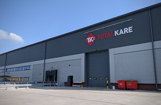 Totalkare relocate to Kingswinford