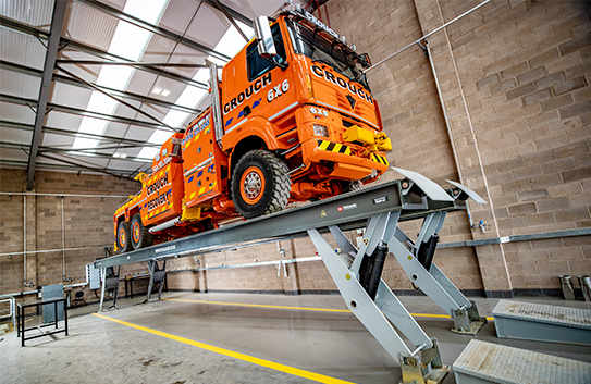 Crouch Recovery installs Y-MECH Lift from Totalkare